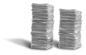 pappersbunt