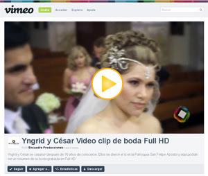 Videos de Boda Full HD