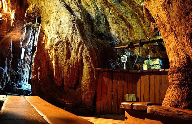 O interior da árvore tem cerca de 4 metros de altura (Foto: Reprodução/South African Tourism)