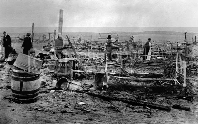 Ruins after Ludlow Massacre
