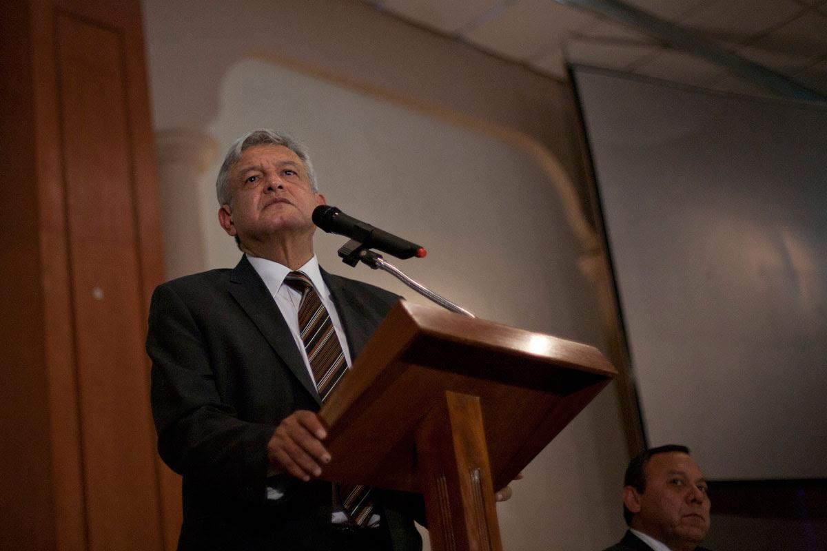 Andrés Manuel López Obrador. Foto: Miguel Dimayuga