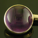 Carrington amethyst cufflinks. (J9156)