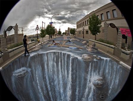 Amazing 3D Graffiti Artists: Sidewalk Chalk & Street Painting ...