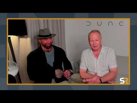 Stellan Skarsgaard & Dave Bautista Interview: Dune