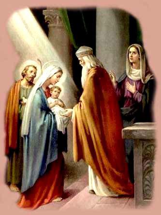 Presentación De Jesús En El Templo Y Purificación De La Virgen María