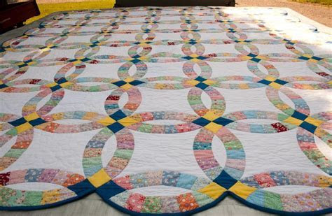 Double Wedding Ring Quilt History: From Yesterday To Today
