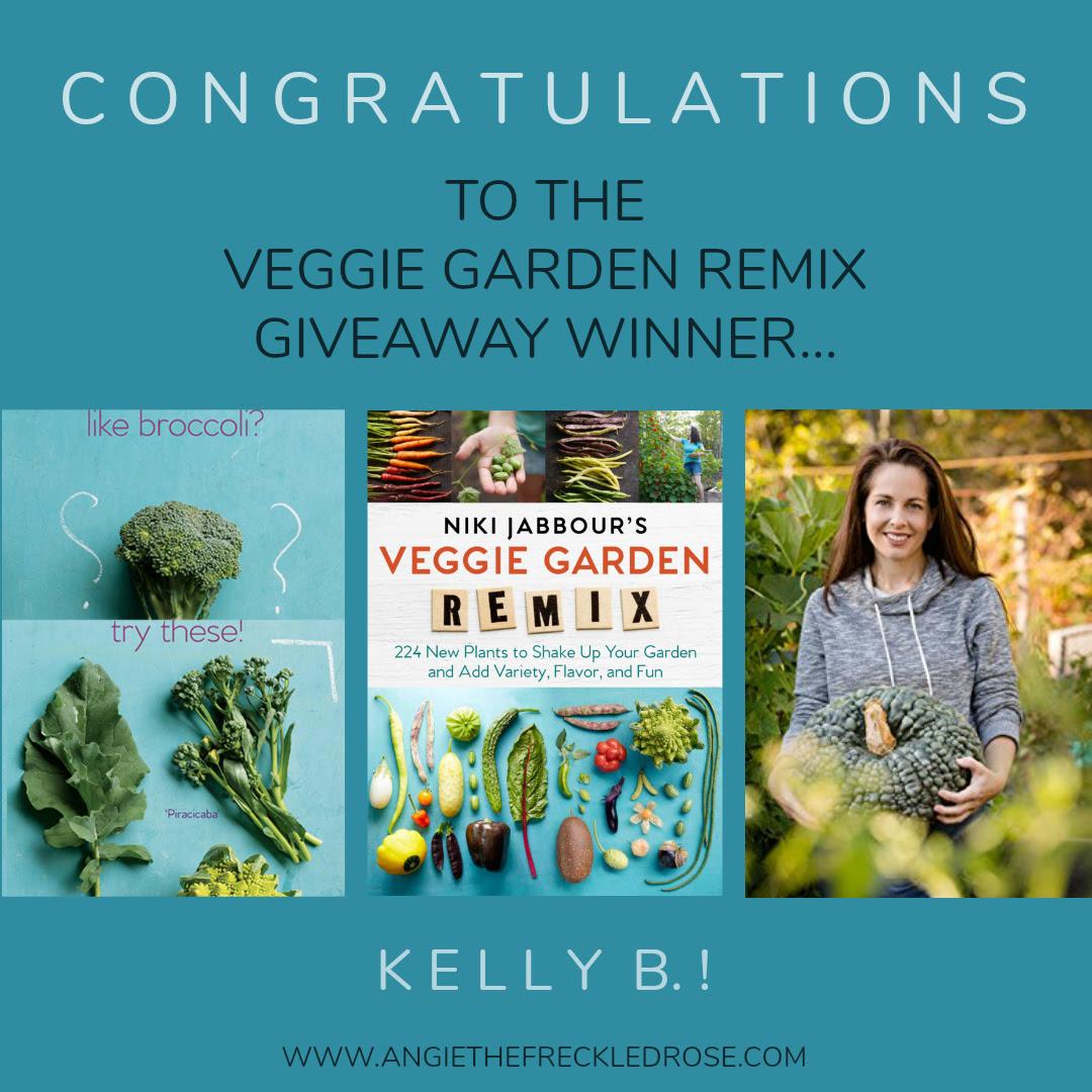 Veggie Garden Remix Winner | Nikki Jabbour | angiethefreckledrose.com