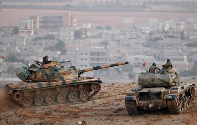 Η Τουρκία ξεκινά τον Γ' παγκόσμιο: Εισβάλλει στη Συρία υπέρ των τζιχαντιστών