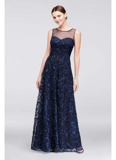 Illusion Bodice Soutache Ball Gown   David's Bridal