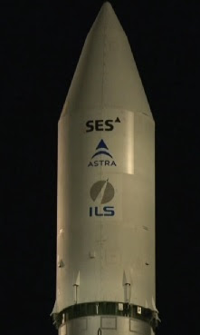 astra 2e satellite launch