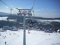 Małe Ciche, wyciąg narciarski