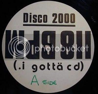 Disco 2000 - I Gotta CD