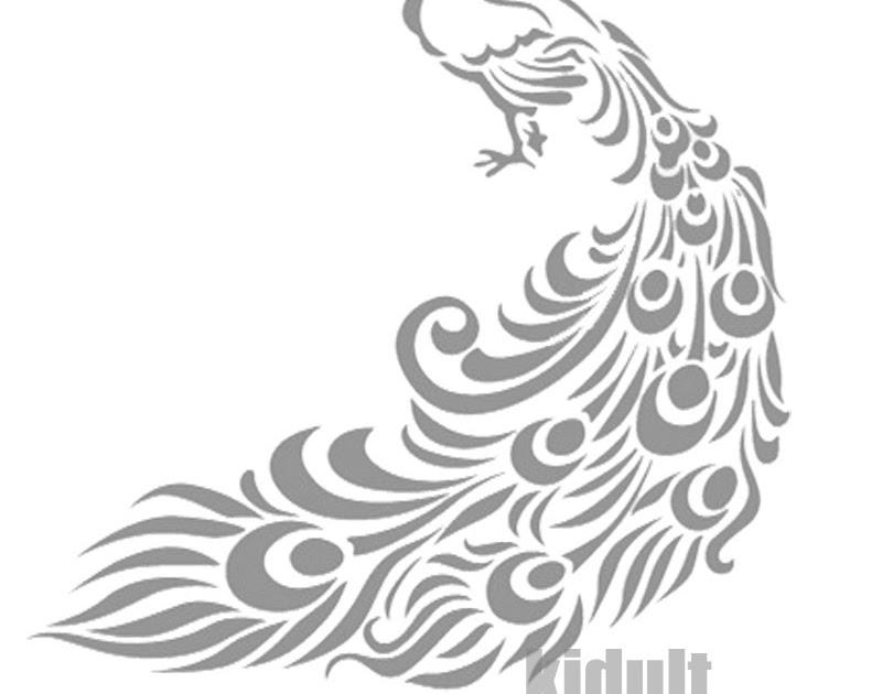 Contoh Gambar Dekoratif Hewan Hitam Putih Gambar Dekoratif