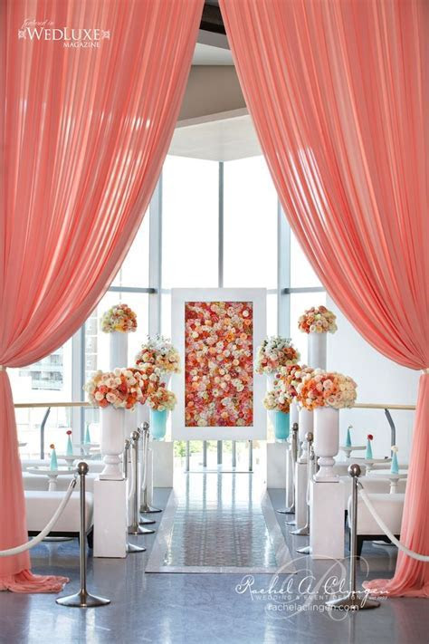 Picture Of fun and creative wedding reception backdrops