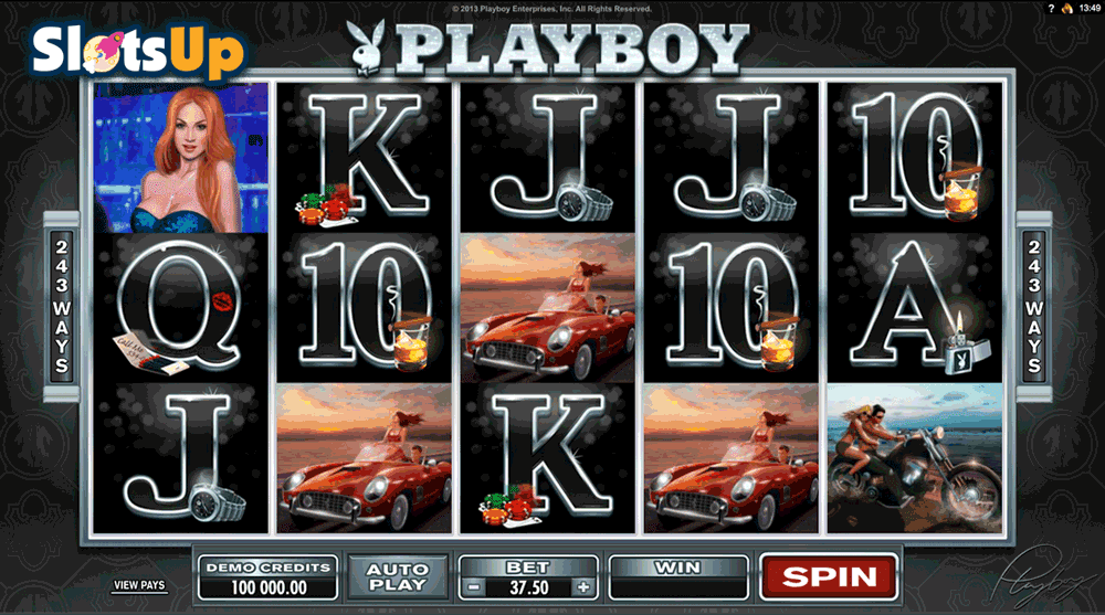 Playboy casino slot game free