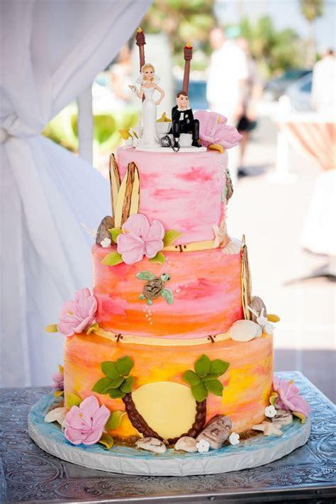 25  best ideas about Hawaiian Wedding Cakes on Pinterest