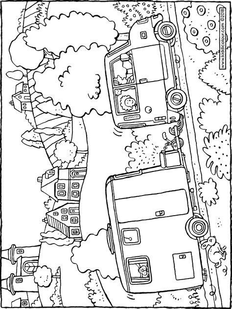 malvorlagen wohnwagen auto  kostenlose malvorlagen ideen
