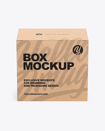 Download Snack Box Mockup Yellowimages