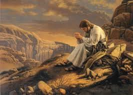 J praying at night