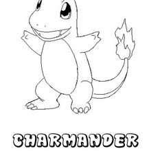 Dibujos Para Colorear Pokemon Charmander Es Hellokids Com