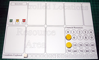 First stab at a player mat - very full!