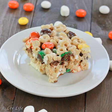 Pumpkin Pie Spice Cereal Treats