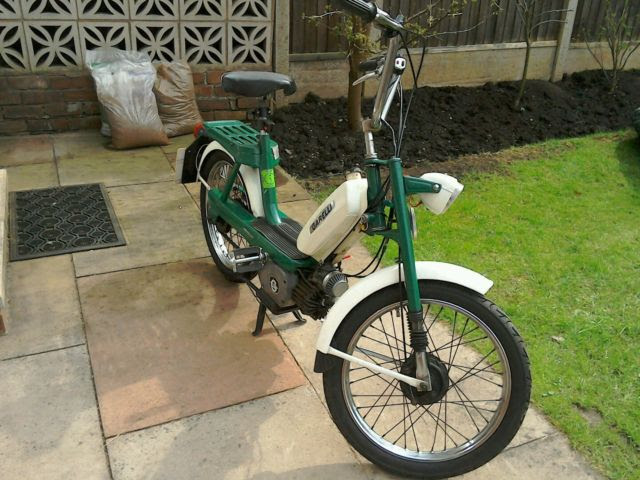 1975 49cc Garelli Eureka Classic Vintage Moped And 1972