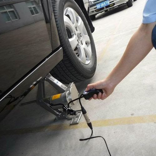 Buy Automatic Car Scissor Jack 2 Ton With Wired Remote Online