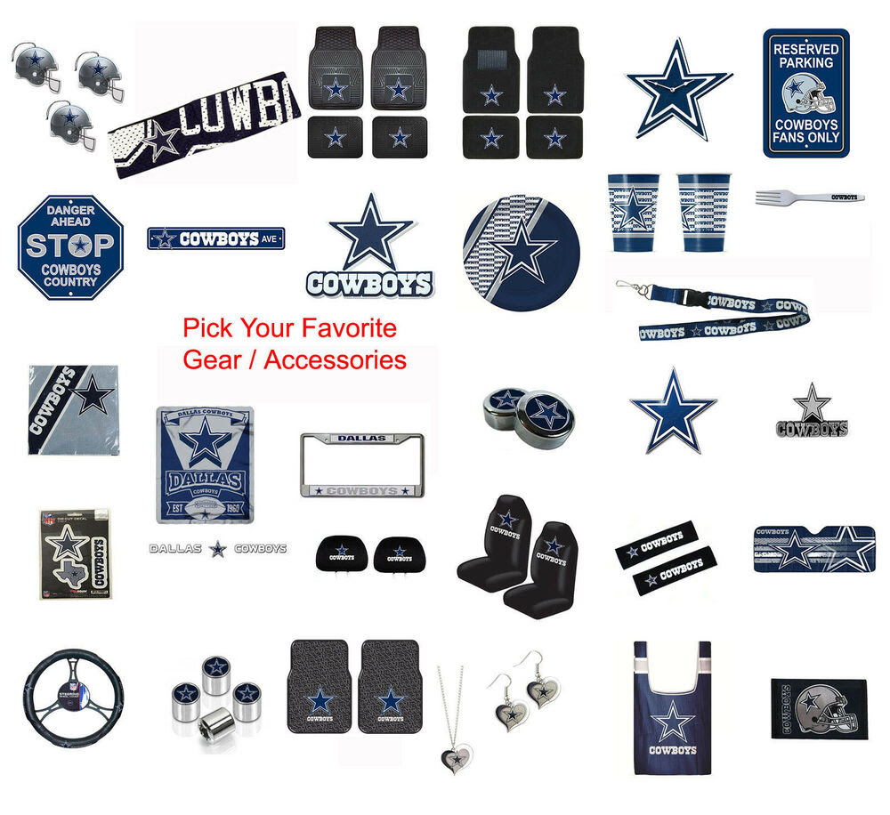 New NFL Dallas Cowboys Pick Your Gear / Automotive Accessories Official Licensed eBay