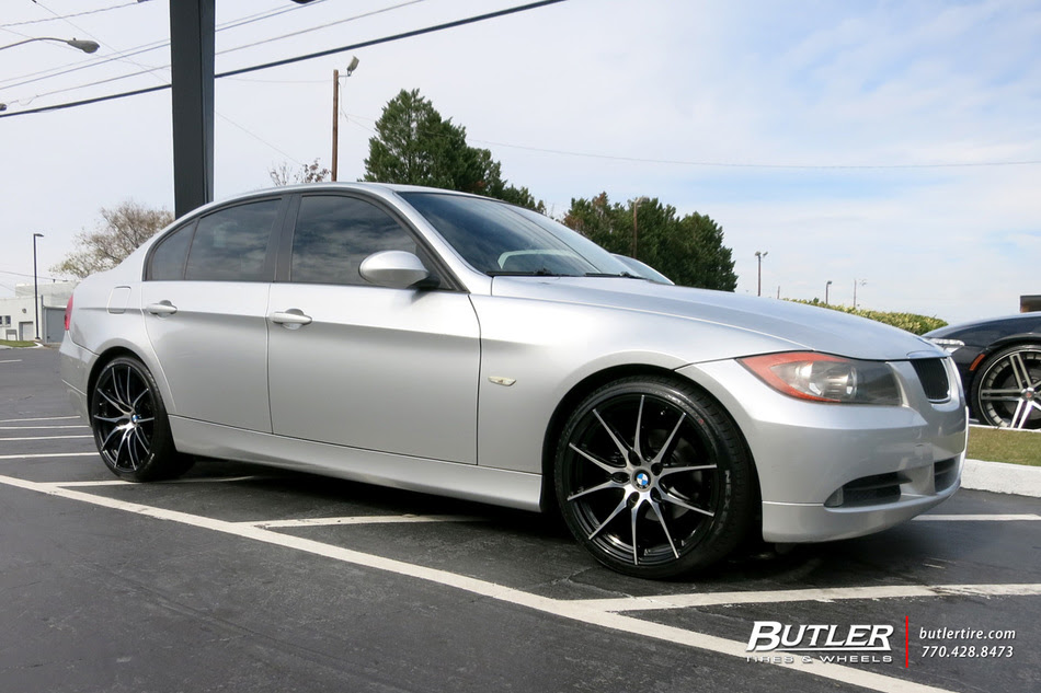 Bmw 3 Series With 19in Tsw Sprint Wheels Exclusively From Butler Tires And Wheels In Atlanta Ga