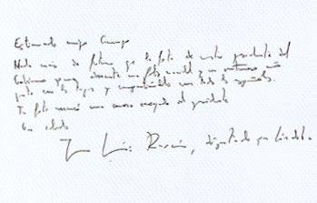 Carta Presidente Gobierno