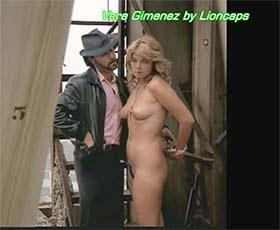 Vera Gimenez nua no filme A Freira e o torturador