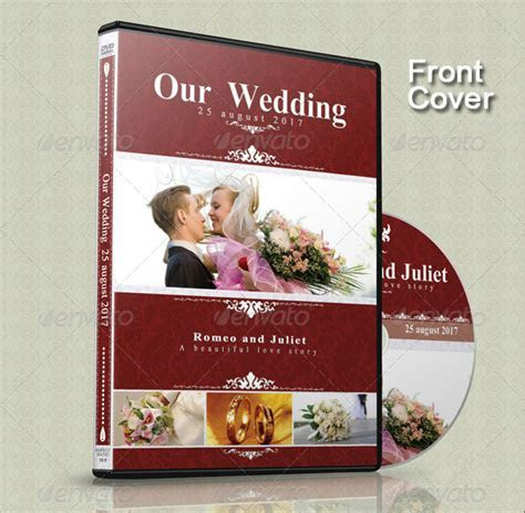 15 Beautiful Wedding CD/DVD Cover Templates ? Design Freebies