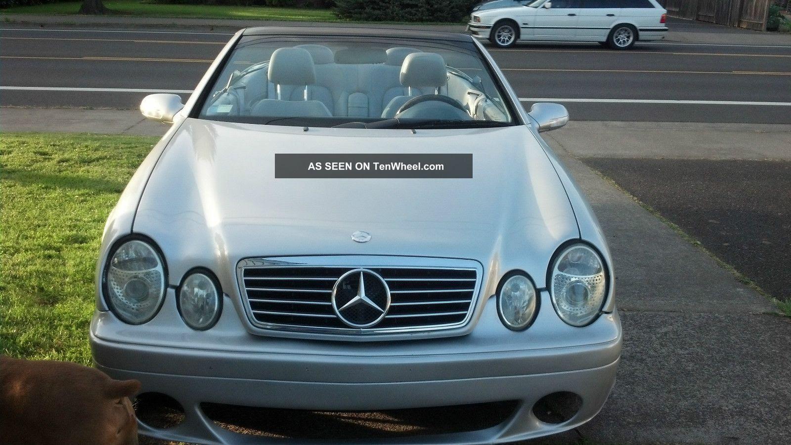 2000 Mercedes - Benz Clk 430 Convertible