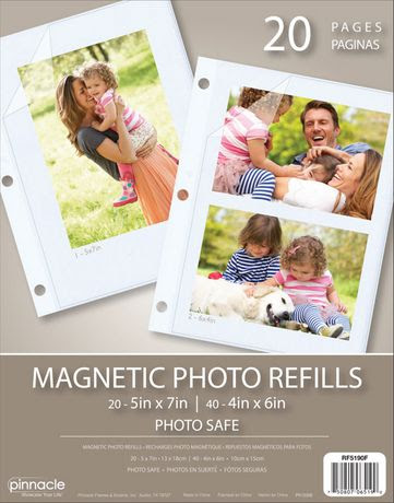 Magnetic Photo Albums Ring Bound Albums Walmart Canada