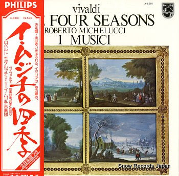 I MUSICI vivaldi; the four seasons