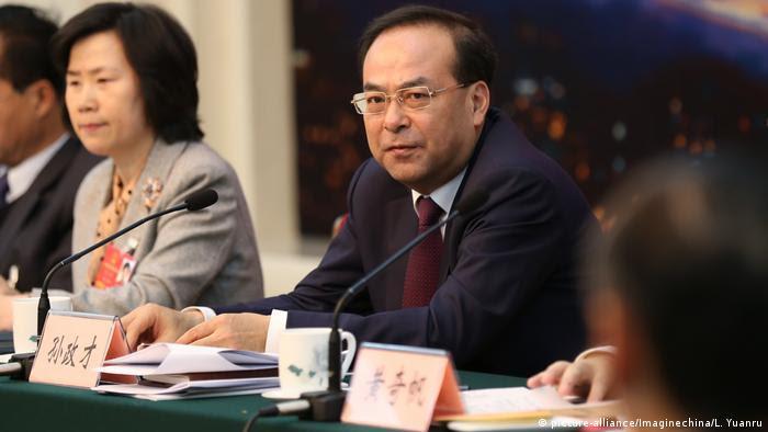 China Sun Zhengcai (picture-alliance/Imaginechina/L. Yuanru)