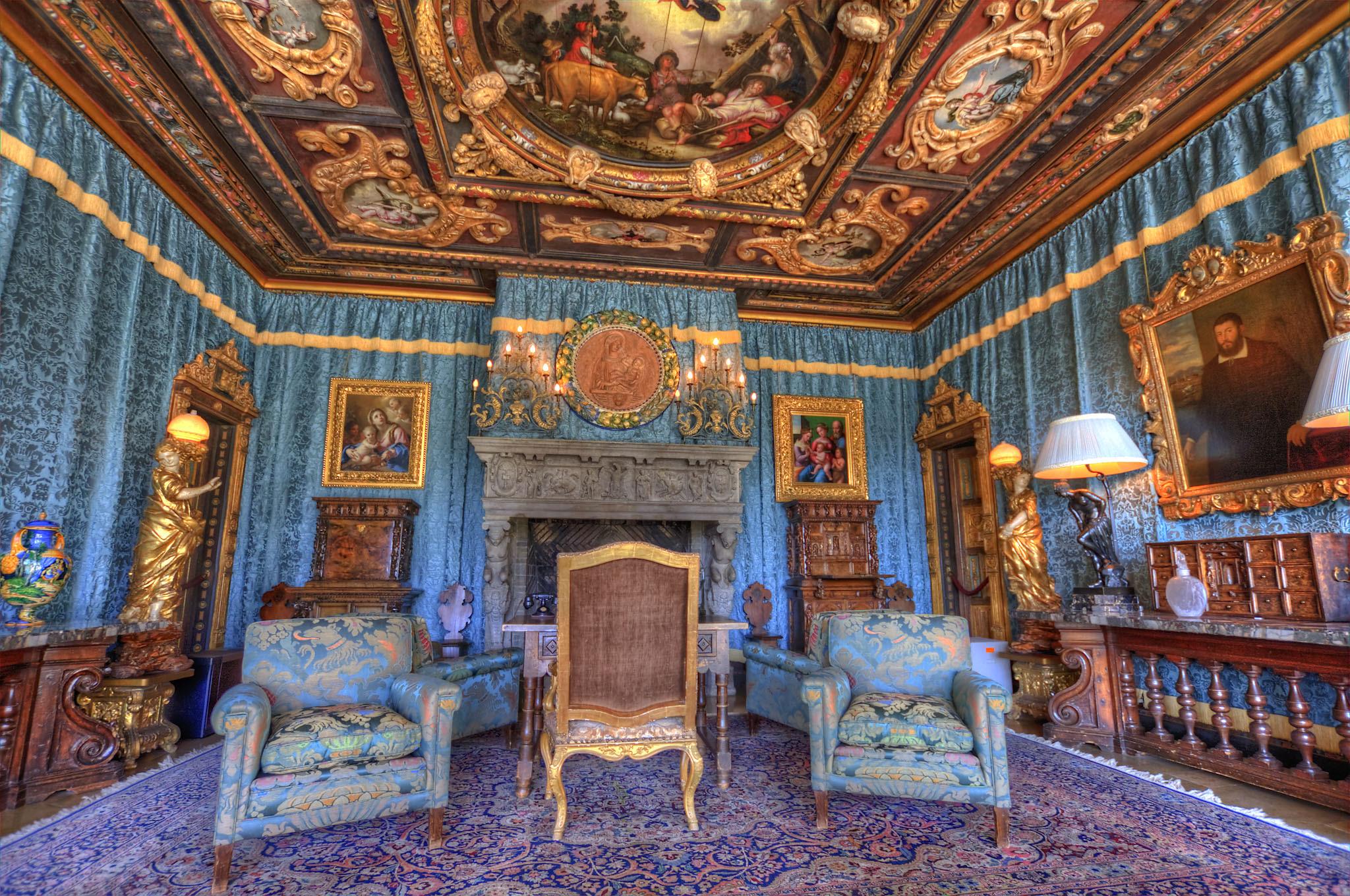 Hearst Castle Doge's Suite   Flickr - Photo Sharing!