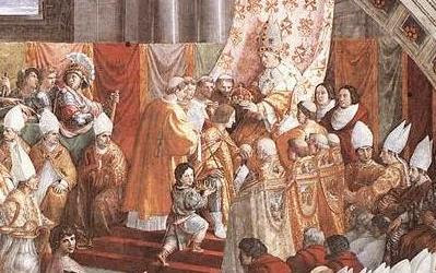 Charlemagne counted on education to complete the work of empire-building in which he was engaged