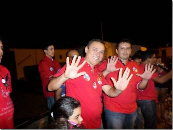 Amazan disputou a Prefeitura de Jardim do Seridó-RN em 2012, obtevendo 4.506 votos (48,44% do total)