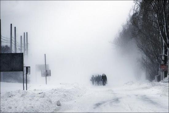 Τρομακτική χιονόπτωση στη Ρουμανία (4)
