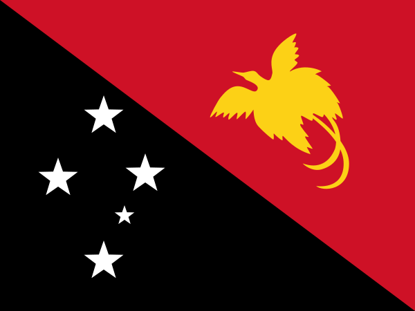 Archivo: Flag of Papua New Guinea.svg