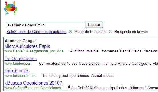 Google y aprobar exámenes de desarrollo