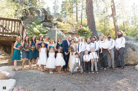 Beautiful, Rustic Wedding at Big Bear Lake   Elizabeth