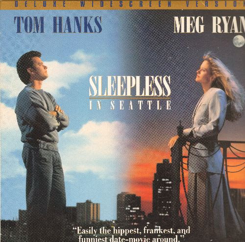 Sleepless In Seattle - LASER DISC version of the Romance ...