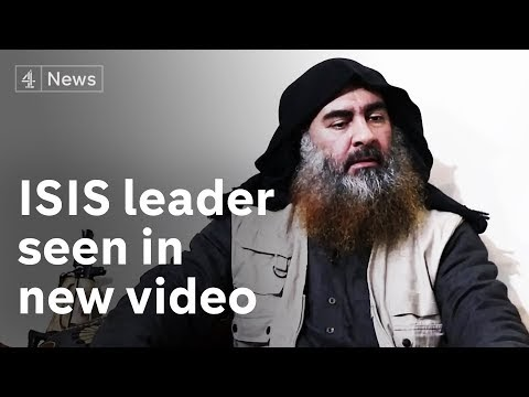 ISIS 'leader' al-Baghdadi: World's most-wanted man seen after 5 years