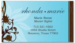 BCS-1005 - salon business card