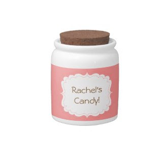 Personalized Candy Jar candyjar