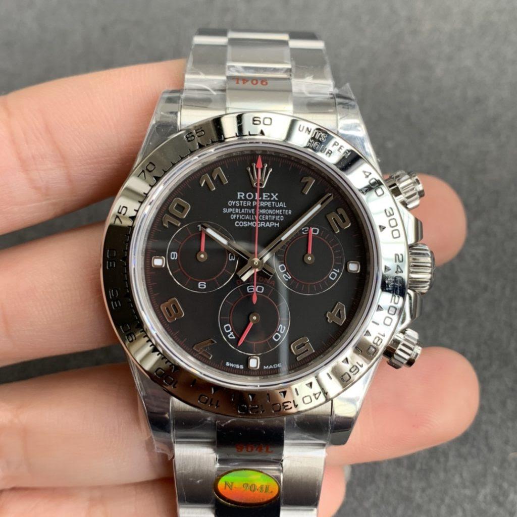 Noob Rolex Daytona 116619 Black Dial