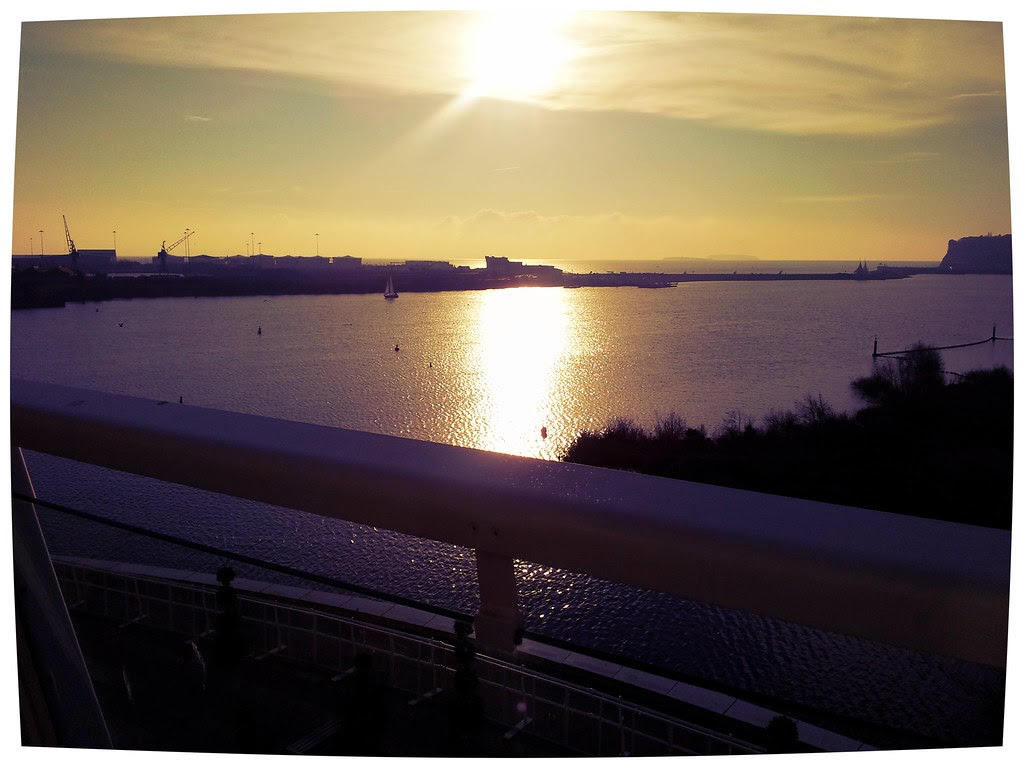 Cardiff Bay Stunning Balcony view St David's Hotel and Spa